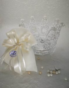 Corona grande con sacchetto